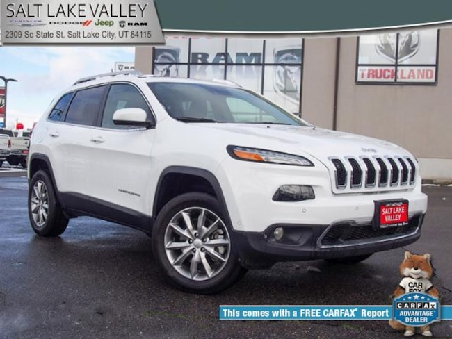 used 2017 jeep cherokee limited 4x4 for sale in salt lake city ut
