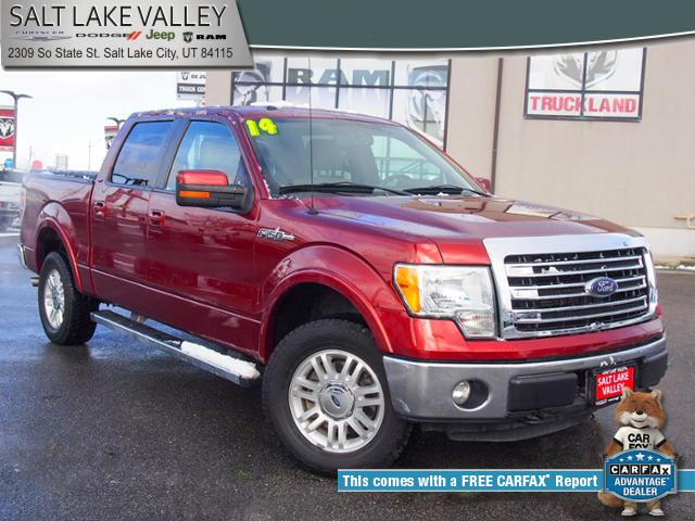 2014 Ford F-150 4WD Supercrew 157 Lariat Truck