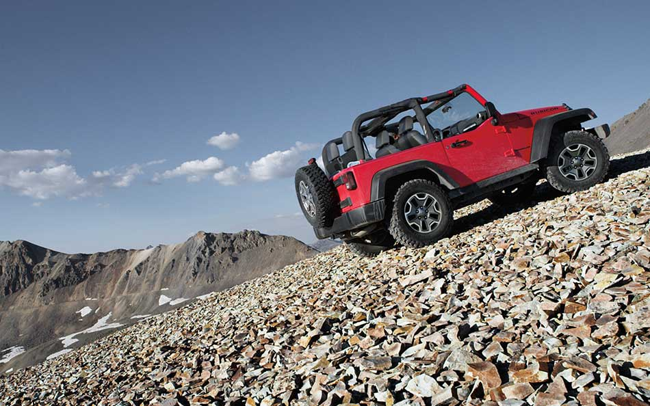 2015 Jeep Wrangler Uphill