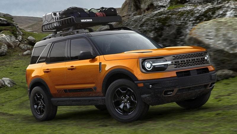 Sames Bastrop Ford - The 2021 Ford Bronco Sport offers adventure near La Grange TX