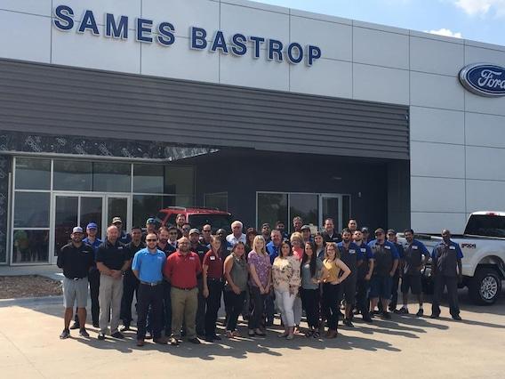 Sames Ford Bastrop >> About Sames Bastrop Ford A Ford Dealership In Bastrop