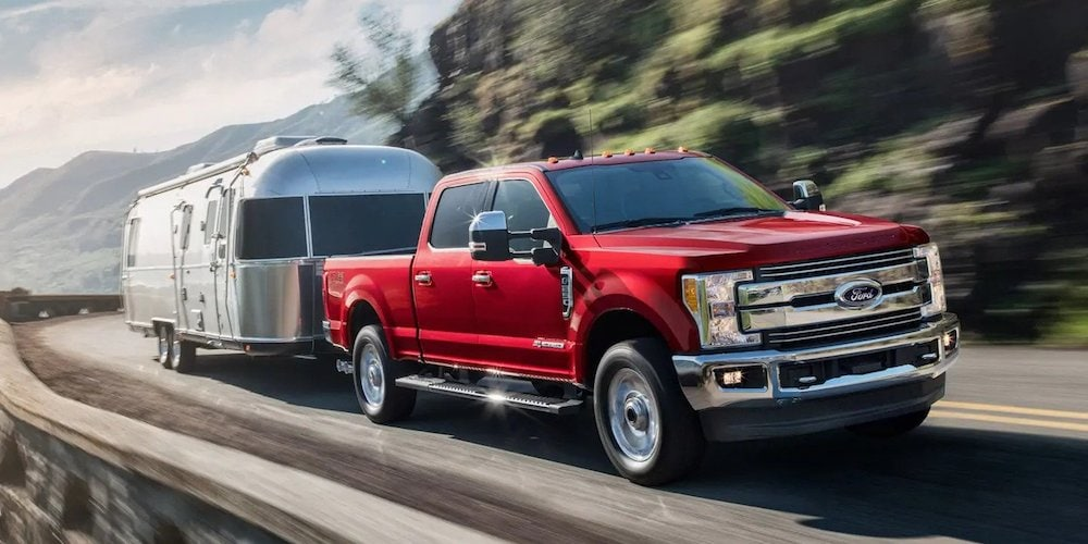2019 Ford F-250 Towing Trailer