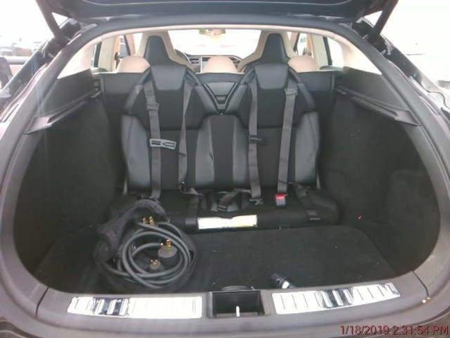 2012 Tesla Model S Performance Sedan