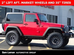 New 2017 Jeep Wrangler JK WILLYS WHEELER W 4X4 Sport Utility in Bloomington, IL