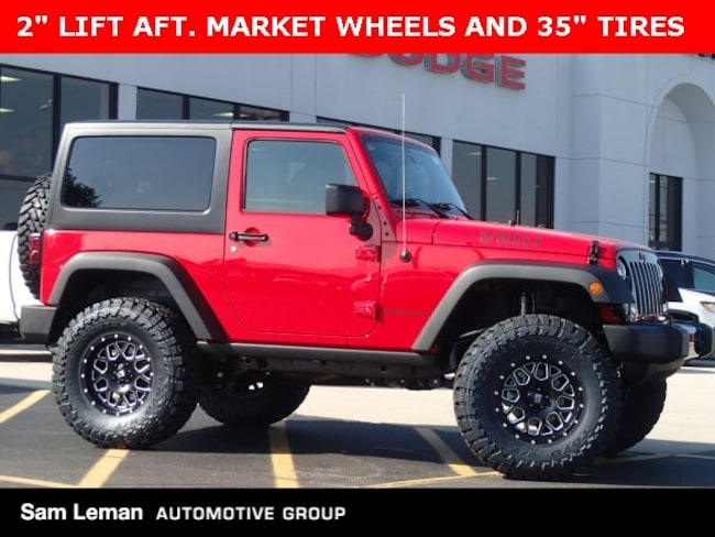 New 2017 Jeep Wrangler JK WILLYS WHEELER W 4X4 Sport Utility Bloomington, IL