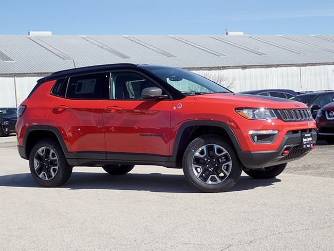 New 2018 Jeep Compass TRAILHAWK 4X4 Sport Utility in Peoria