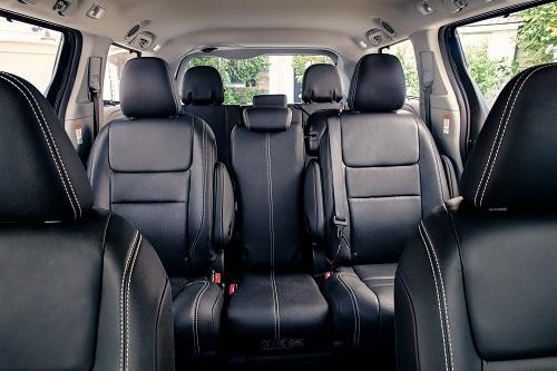 Delightful Toyota Sienna Interior