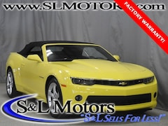 Used 2015 Chevrolet Camaro LT Convertible in Pulaski WI