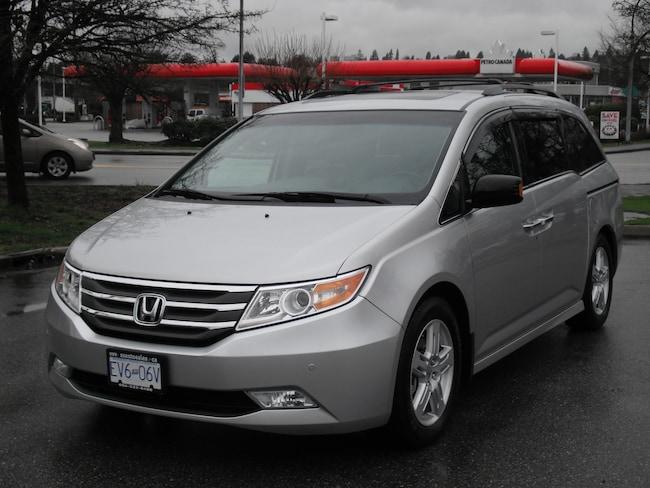 2013 Honda Odyssey Touring Local Van Service Records Minivan