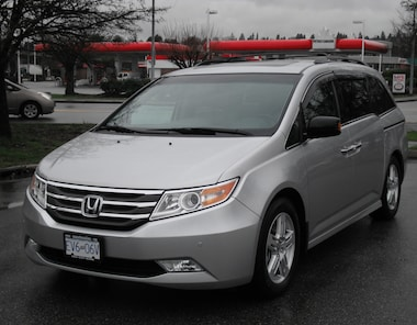 2013 Honda Odyssey Touring Local Van Service Records Minivan