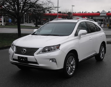 2013 LEXUS RX 350 Touring 36, 000 KMS 1 Owner No Accidents SUV
