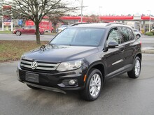 2012 Volkswagen Tiguan 2.0 TSI Comfortline 4 Motion Leather Moonroof SUV