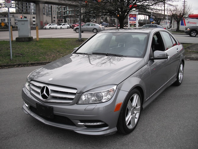 2011 Mercedes-Benz C-Class C300 4MATIC Navigation One Owner No Accidents Sedan
