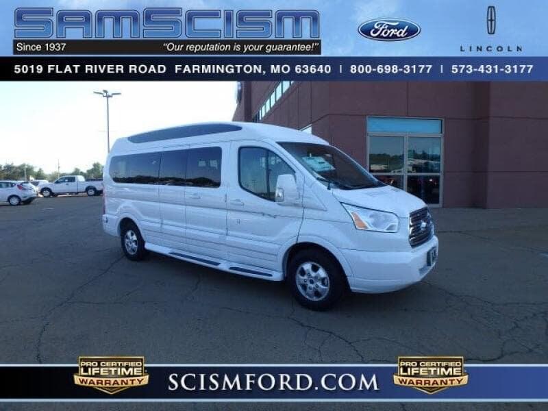 2017 Ford Transit-150 w/60/40 Pass-Side Cargo-Doors Van