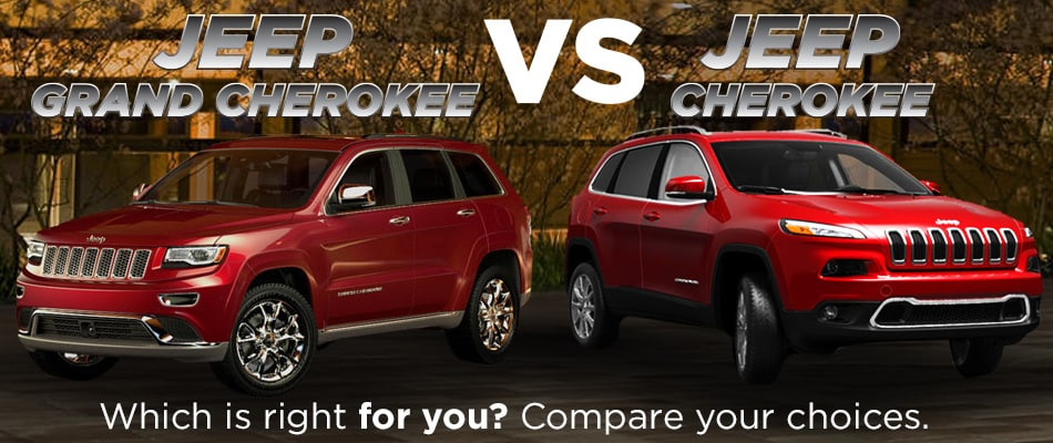 2014 Jeep Grand Cherokee Vs 2014 Jeep Cherokee In San Antonio