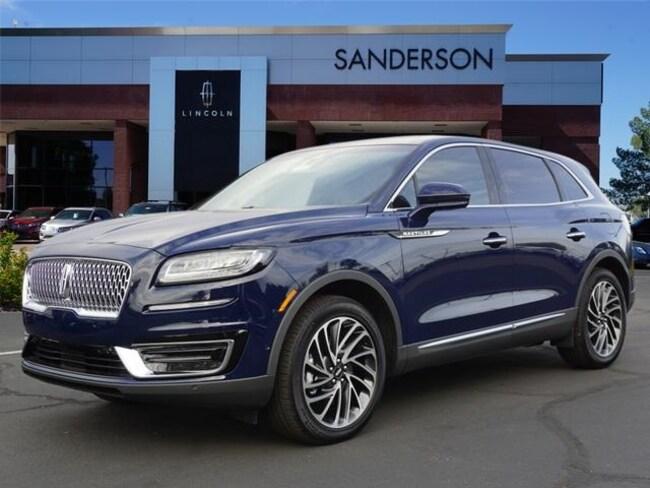 New 2019 Lincoln Nautilus For Sale At Sanderson Lincoln Vin