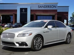 Used 2018 Lincoln Continental Select Sedan