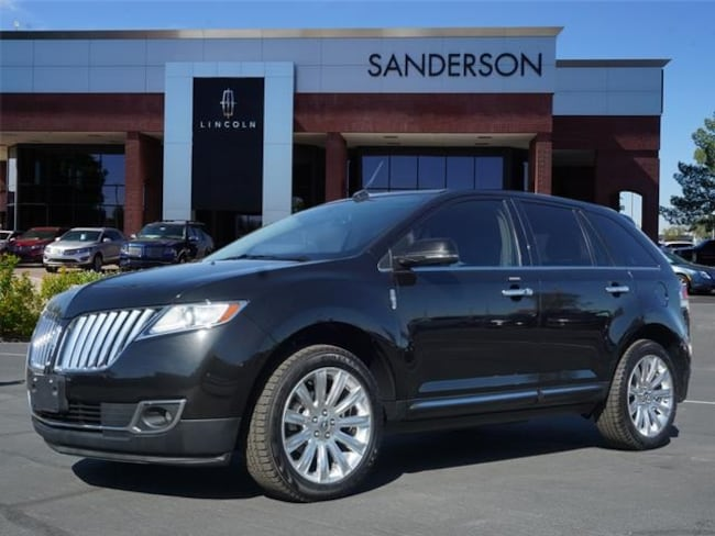 Used 2014 Lincoln Mkx For Sale At Sanderson Lincoln Vin
