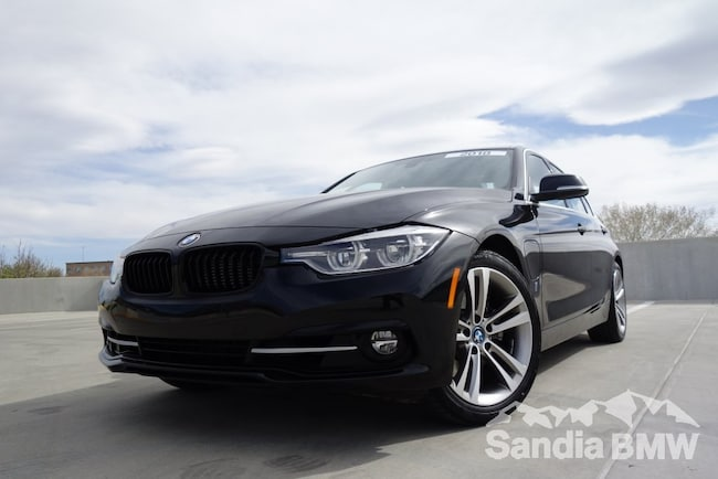2018 BMW 330e iPerformance Sedan