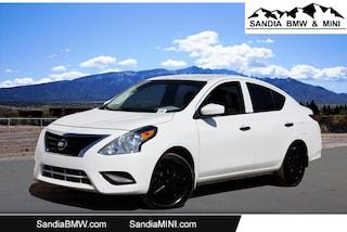 2018 Nissan Versa Sedan S Sedan