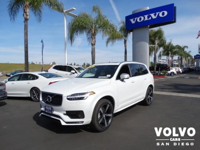 New 2019 Volvo XC90 T6 R-Design SUV For Sale/Lease San Diego, CA