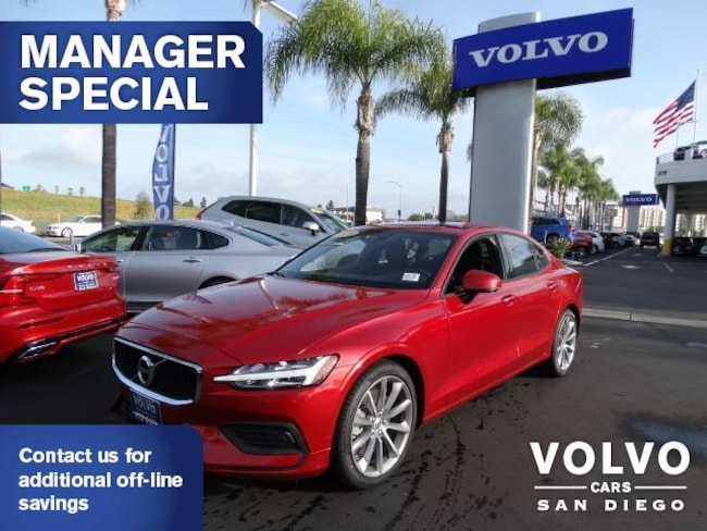 New 2019 Volvo S60 T5 Momentum Sedan For Sale/Lease San Diego, CA