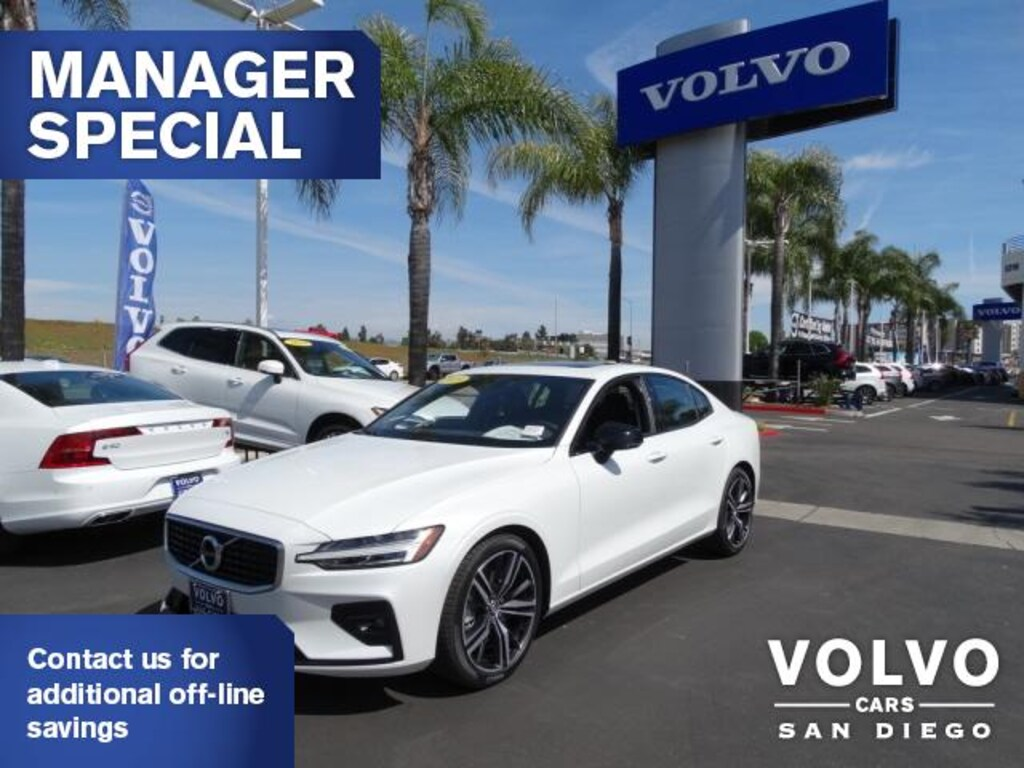 Cars For Sale San Diego >> New 2019 Volvo S60 For Sale Lease San Diego Ca Stock 191471