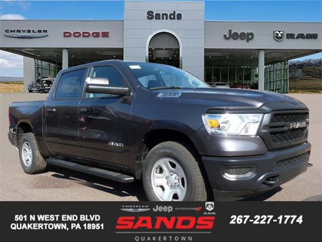 New 2019 Ram 1500 TRADESMAN CREW CAB 4X4 5'7 BOX Crew Cab For Sale in Quakertown, PA