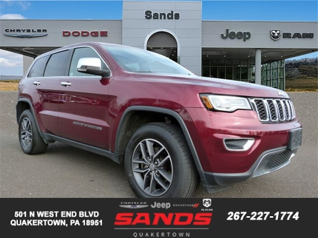 Certified 2018 Jeep Grand Cherokee Limited SUV For Sale in Quakertown, PA