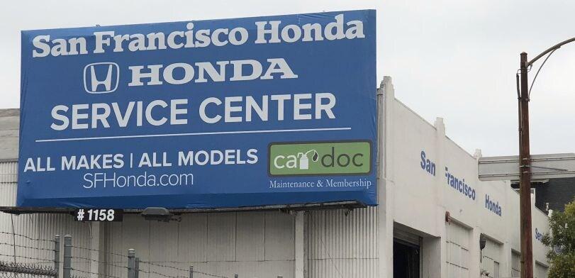 San Francisco Honda Folsom St Service Center Serving Mission District CA