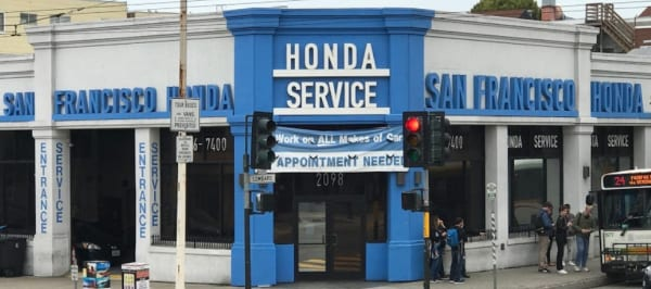 San Francisco Honda Marina Service Center Serving North SF Bay Area