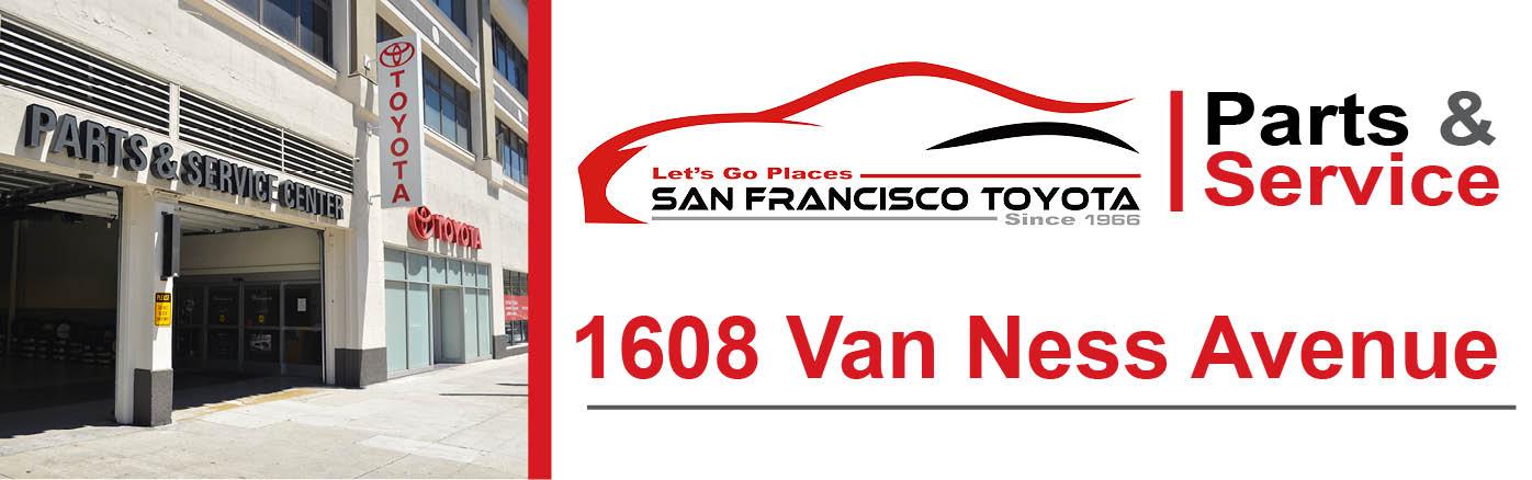Toyota Service Appointment >> Toyota Service San Francisco Toyota Service Center Ca 94109