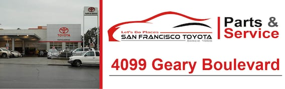 Toyota Service Appointment >> Schedule Service San Francisco Toyota Service Geary Blvd Ca