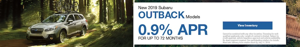 New 2019 Subaru Outback Models
