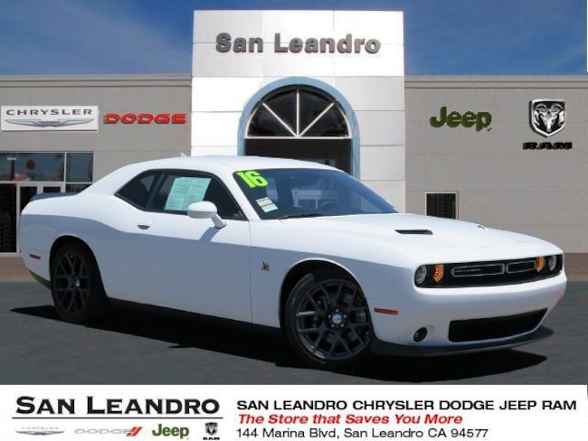 used 2016 Dodge Challenger R/T Scat Pack Coupe in San Leandro