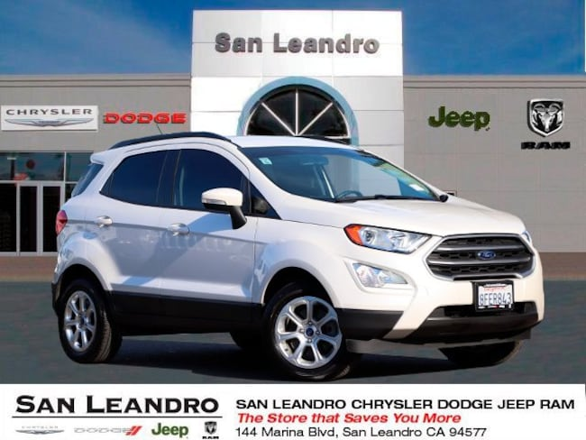 used 2018 Ford EcoSport SE SUV in San Leandro