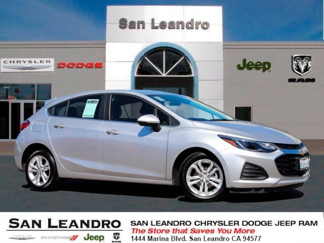 used 2019 Chevrolet Cruze LT Hatchback in San Leandro