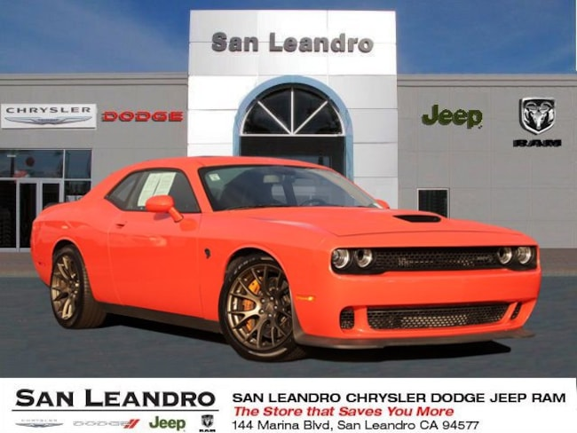used 2018 Dodge Challenger SRT Hellcat Coupe in San Leandro