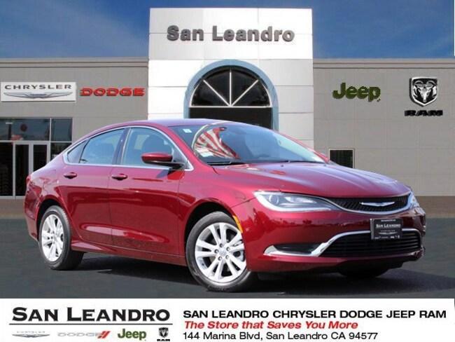 used 2017 Chrysler 200 Limited Sedan in San Leandro
