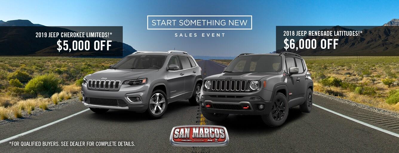 Chrysler Dodge Jeep Ram Dealership In San Marcos Tx
