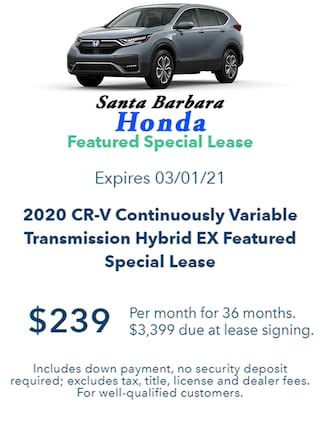 2020 CR-V HYBRID FEATURED LEASE