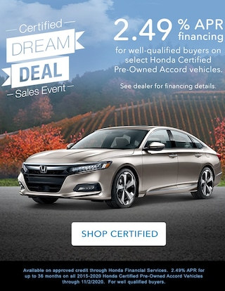 Accord Certified Pre Owned