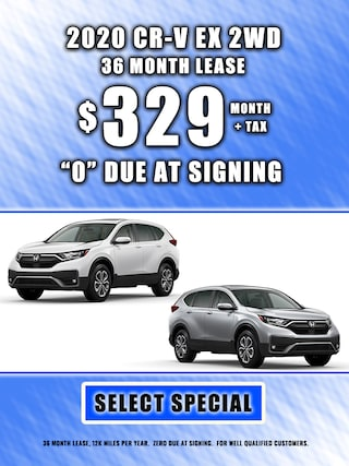 2020 CR-V LEASE $329 MONTH + TAX