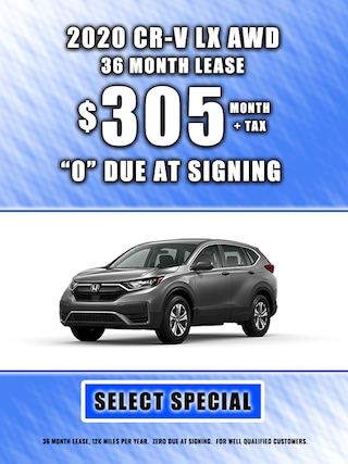 2020 CR-V LEASE $305 MONTH + TAX