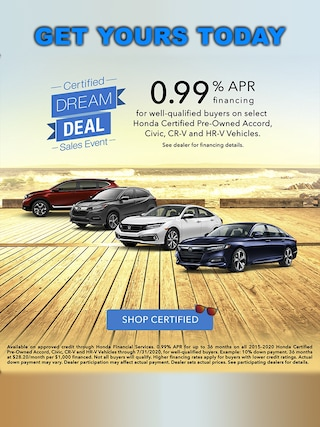 Certified Pre Owned Special APR