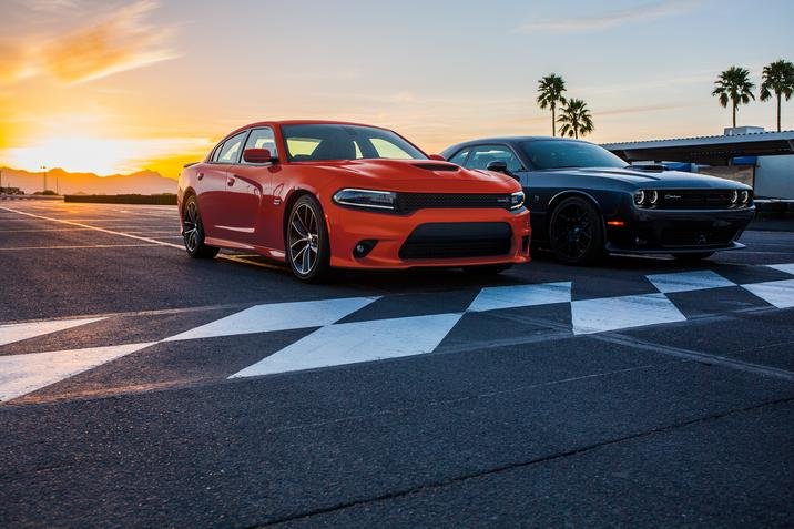 2017 Dodge Charger and 2017 Dodge Challenger