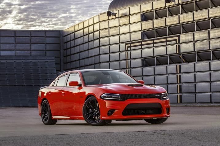 2017 Dodge Charger in Red