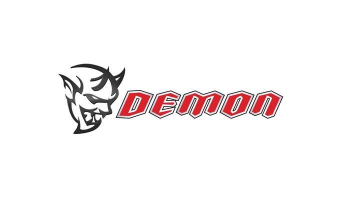 2018 Dodge Challenger SRT Demon Logo
