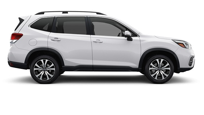 2020 Forester in Crystal White Pearl