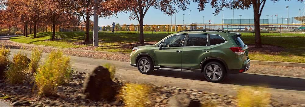 2020 Subaru Forester near a park